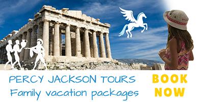 Percy Jackson family vacation tours