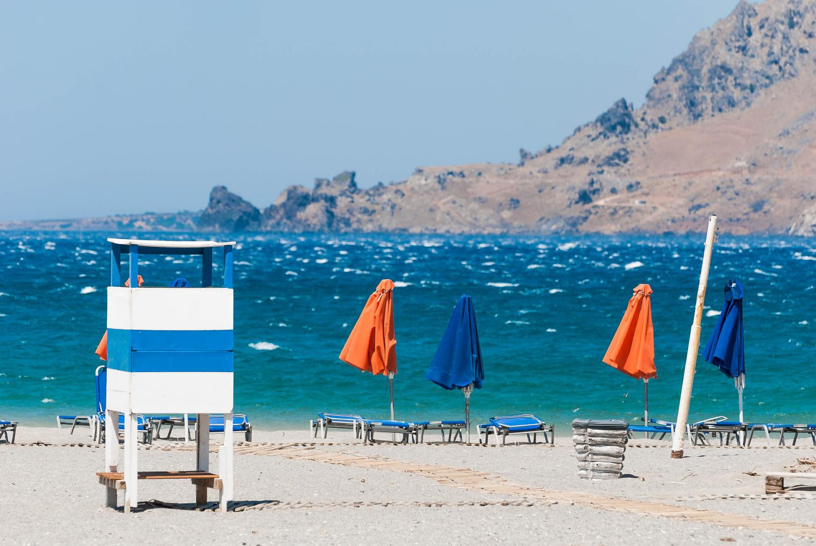 Plakias beach south Rethymno KidsLoveGreece.com
