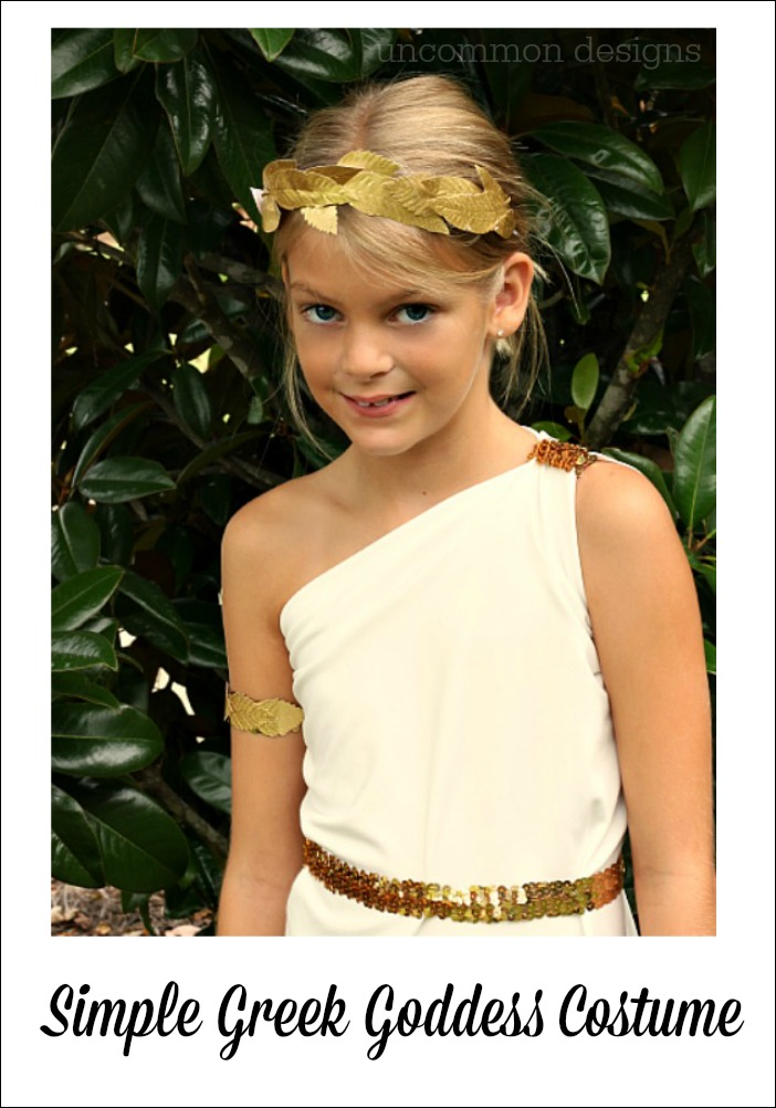 Are not Girl nude greek goddess costume