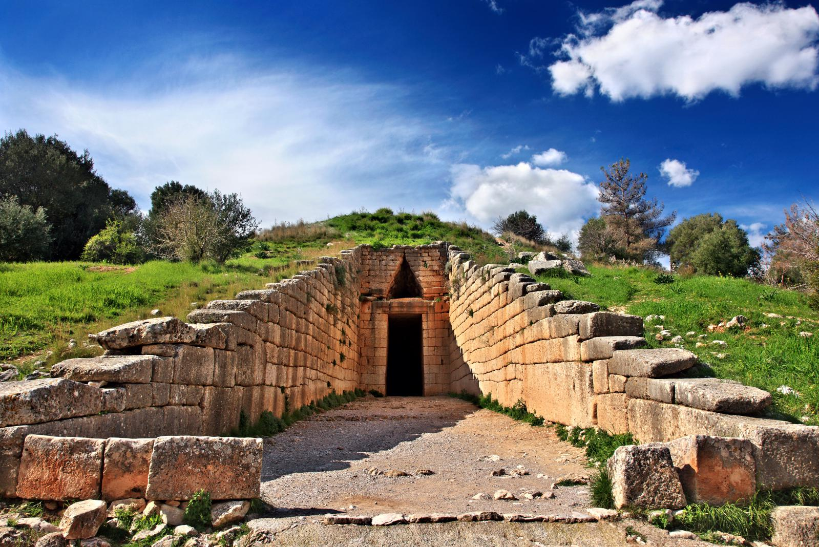 tomb in Mycenae