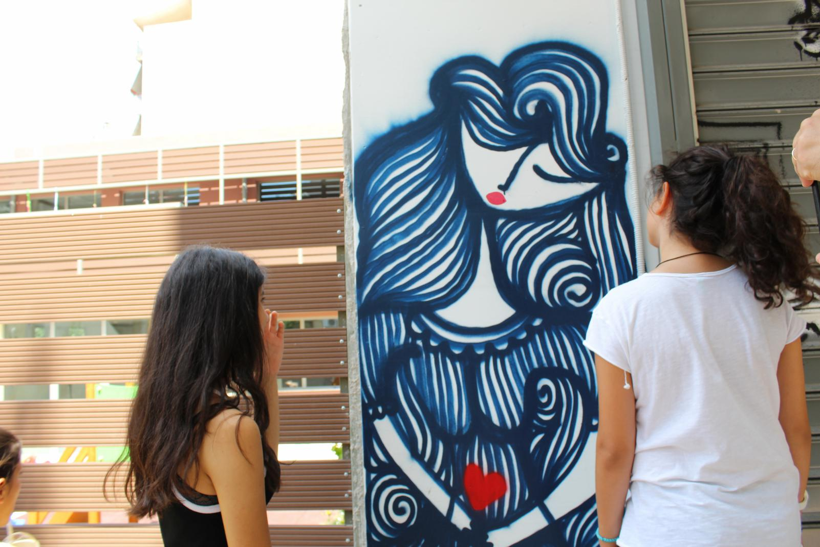 street art tour Athens KidsLoveGreece.com