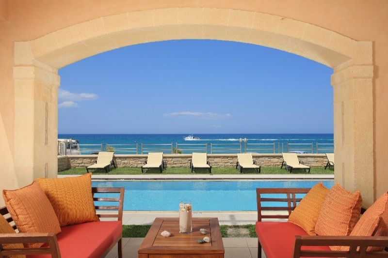 Family villas Crete Kids Love Greece accommodation irida villa Rethymno