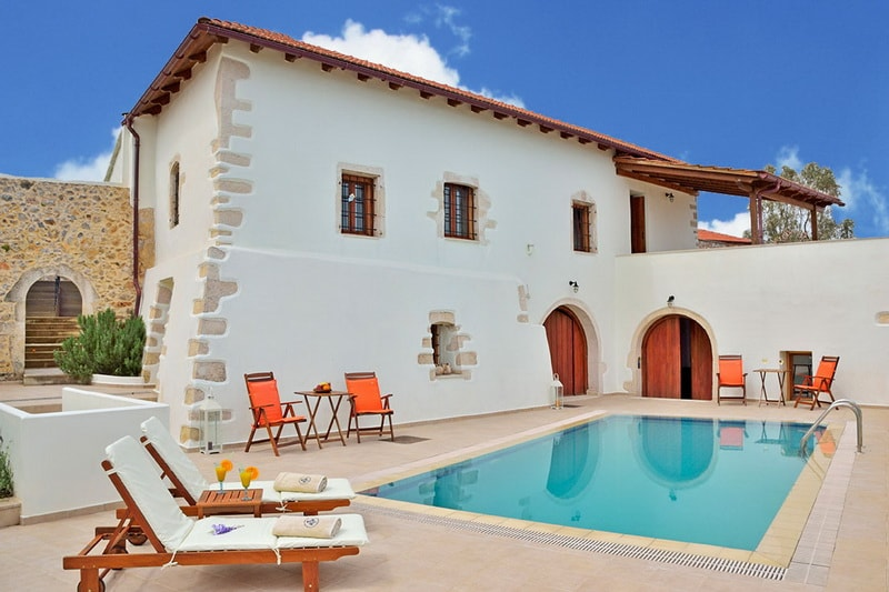 family villas Crete kids love Greece accommodation mylo family villa Kefalas Chania