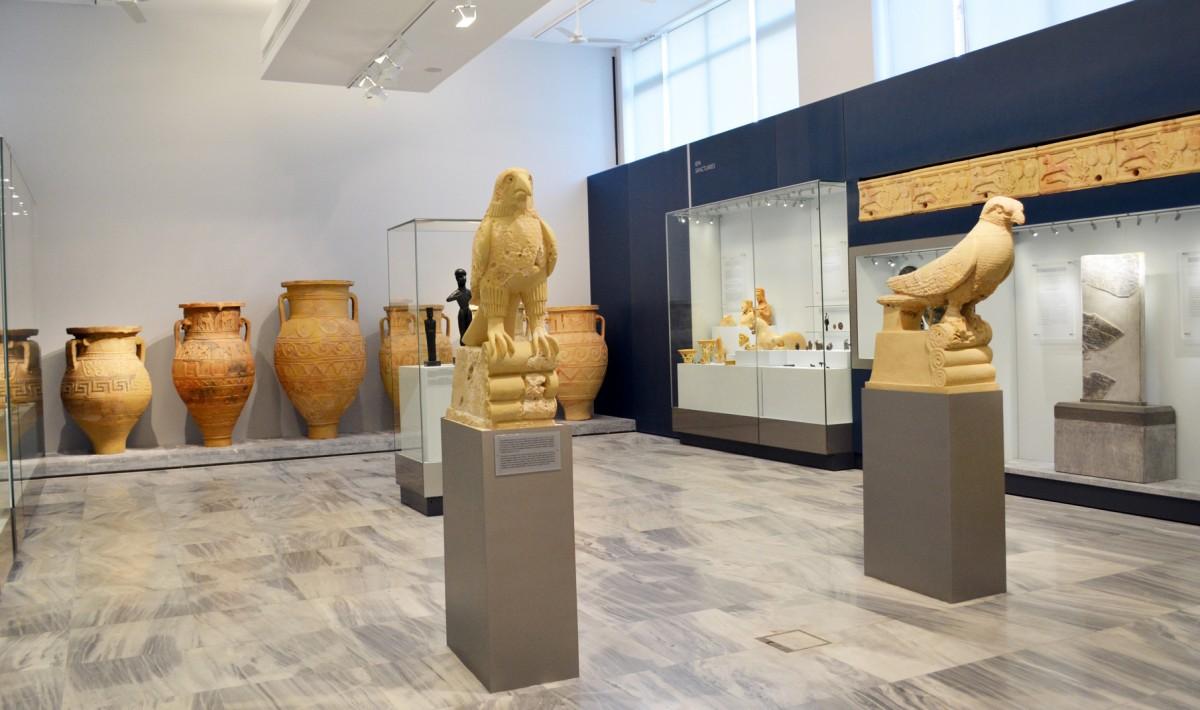 Archeological museum of Heraklion Knossos