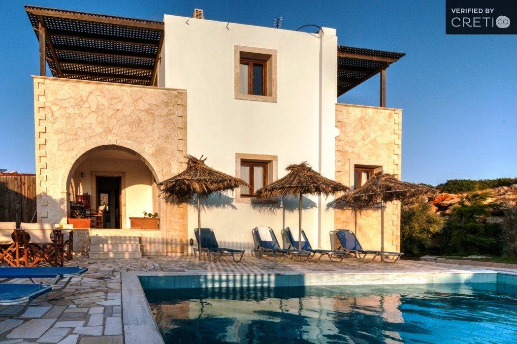 aeolus family villa ierapetra crete kids love greece accommodation for families
