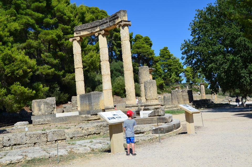 Percy Jackson Mythology Family Trip 7-day Package Ancient Olympia family guided tour kids love greece Peloponnese activities for families
