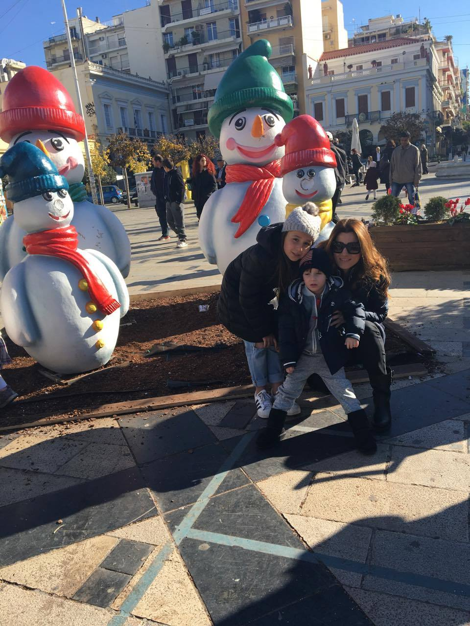 Central Square Patra Christmas Holidays Peloponissos KidsLoveGreece
