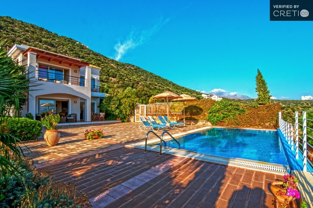 deluxe family villa agios nikolaos lassithi crete kids love greece accommodation for families