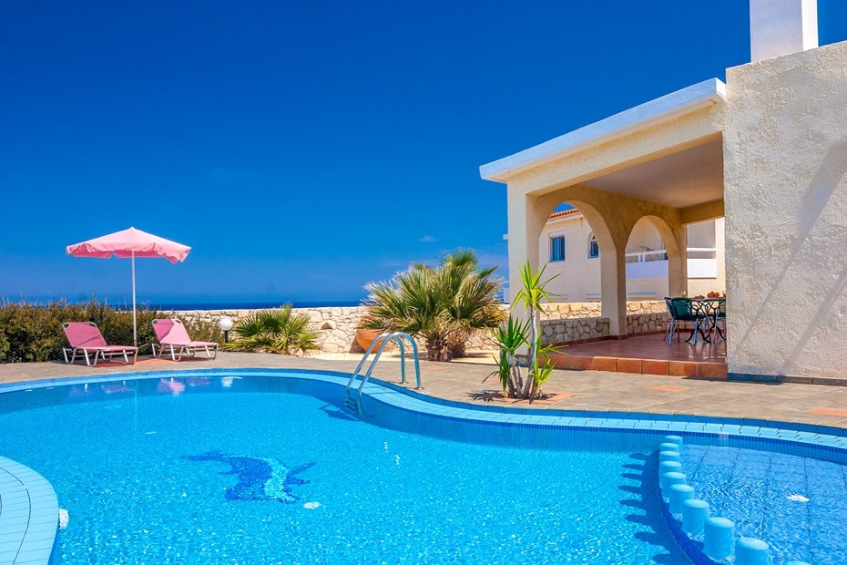 family villa clio stavros acrotiri chania crete kids love greece accommodation for families