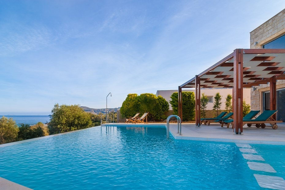family villa corallium sfinari western chania crete kids love greece accommodation for families