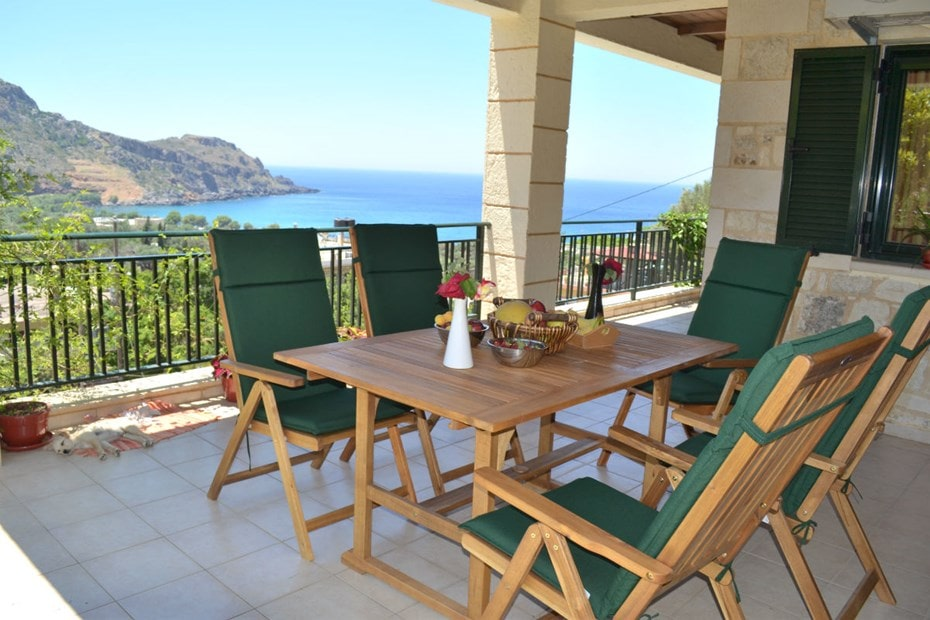 western chania crete kids love greece accommodation for families family villa klio sfinari