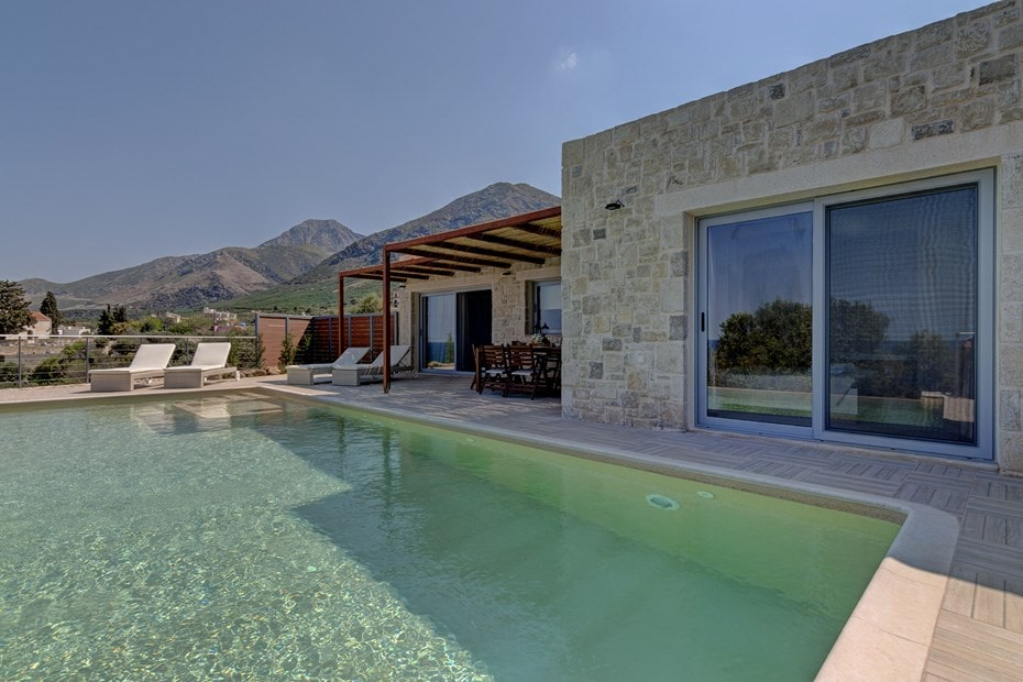 family villa sfinari western chania sfinari crete kids love greece accommodation for families