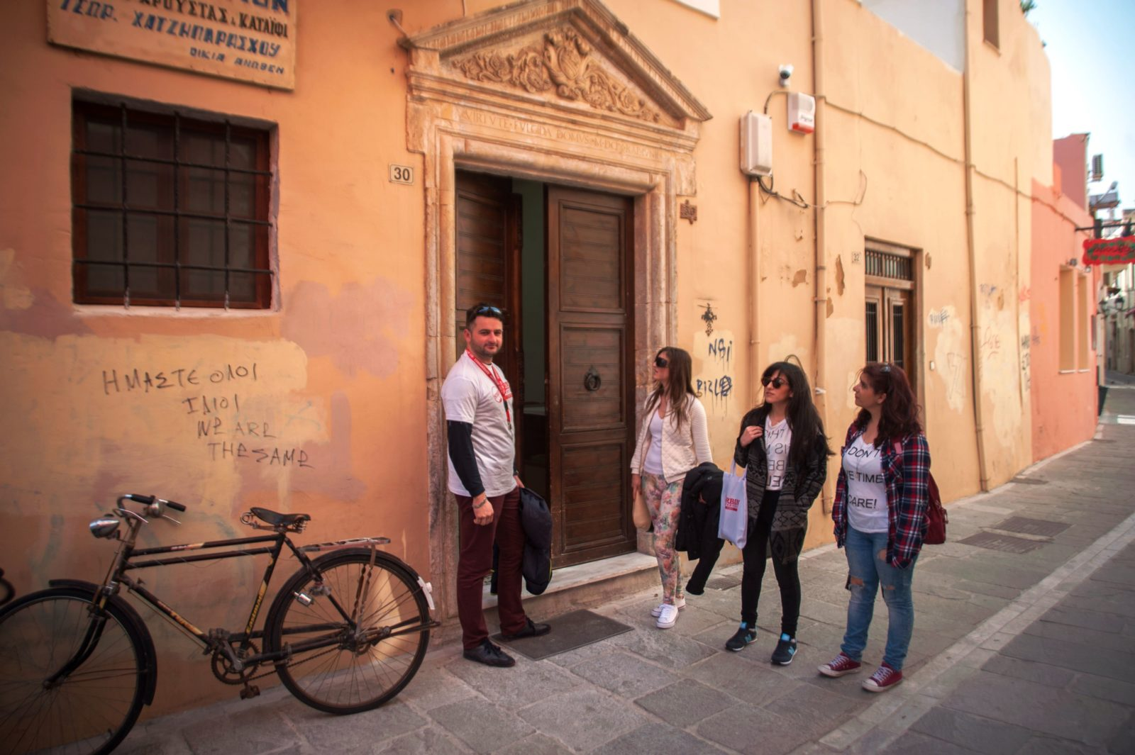 Crete kids love greece Rethymno conquered family walking tour activities for families