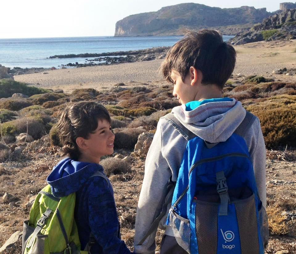 antiquity and adventurers family tour Chania Crete kids love greece activities for families