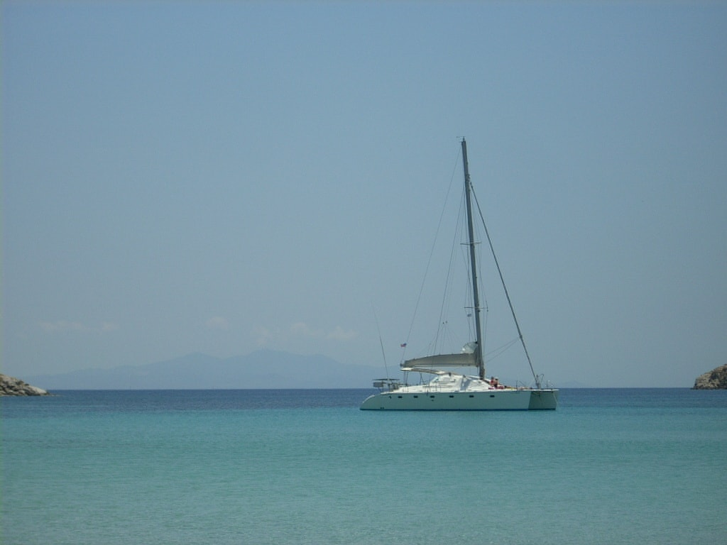activities for families Cyclades catamaran family sailing trip from Mykonos sunset tour kids love greece