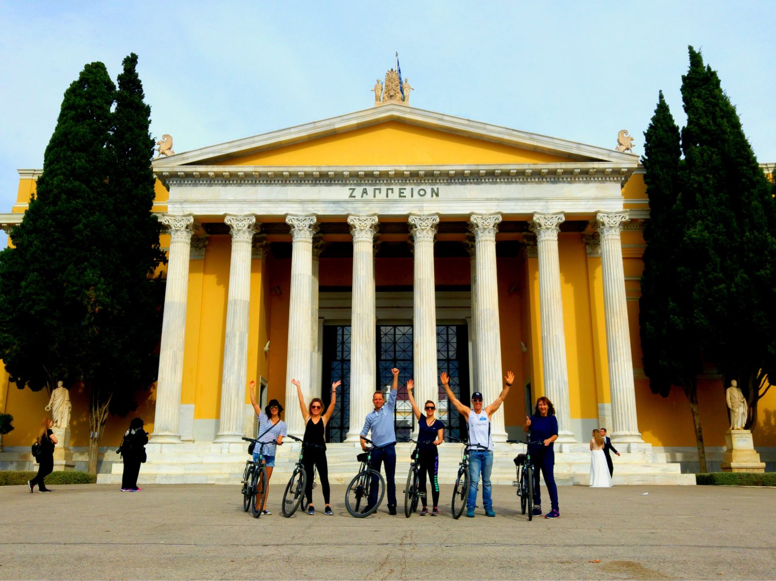 See Athens by Βike Family biking activity in Athens kidslovegreece Greece children sightseeing Acropolis amazing bicycles cycling monuments private specially designed city tour amazing experience