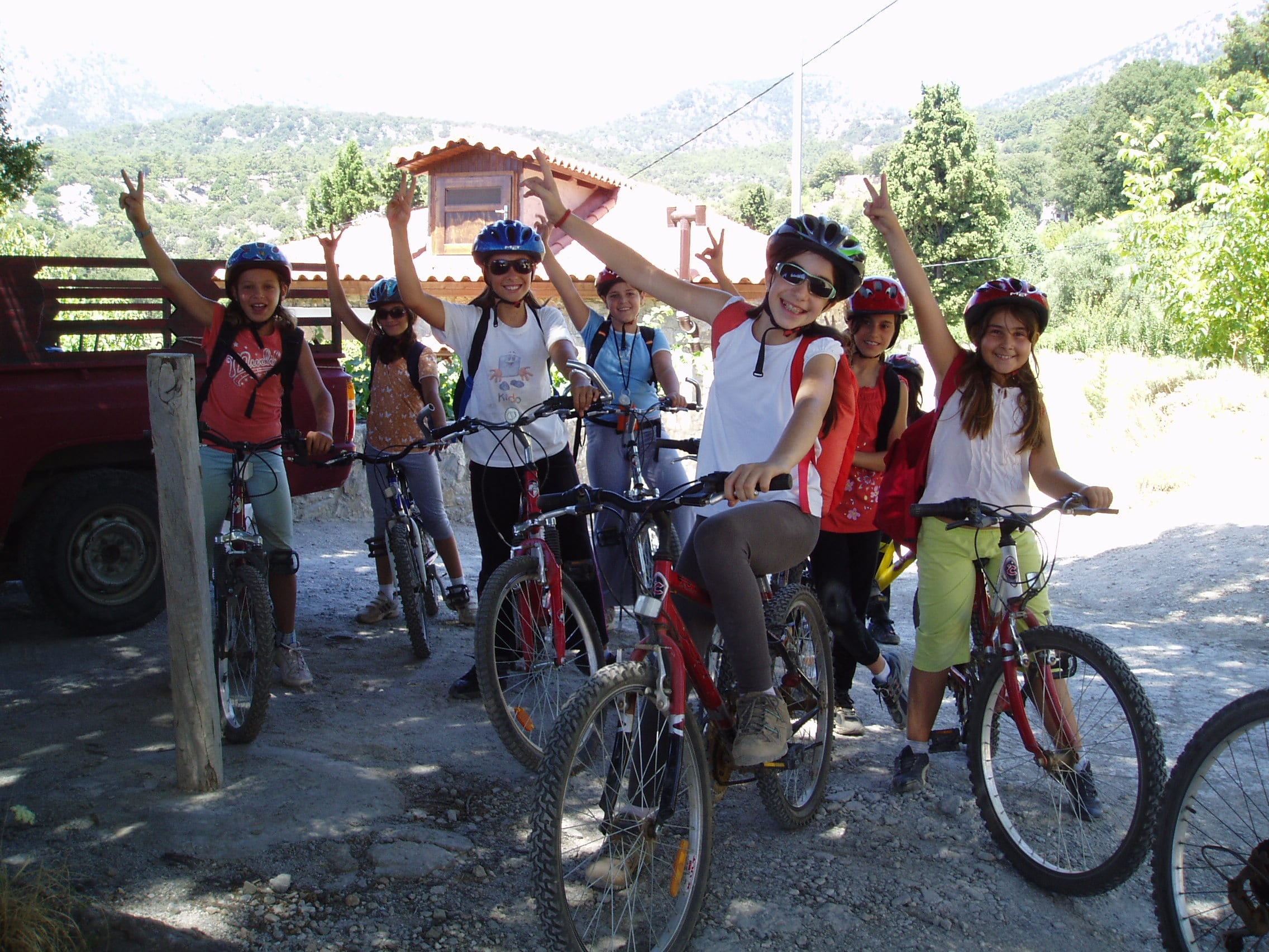 family holiday in Greece mountain biking for families outdoor activities crete