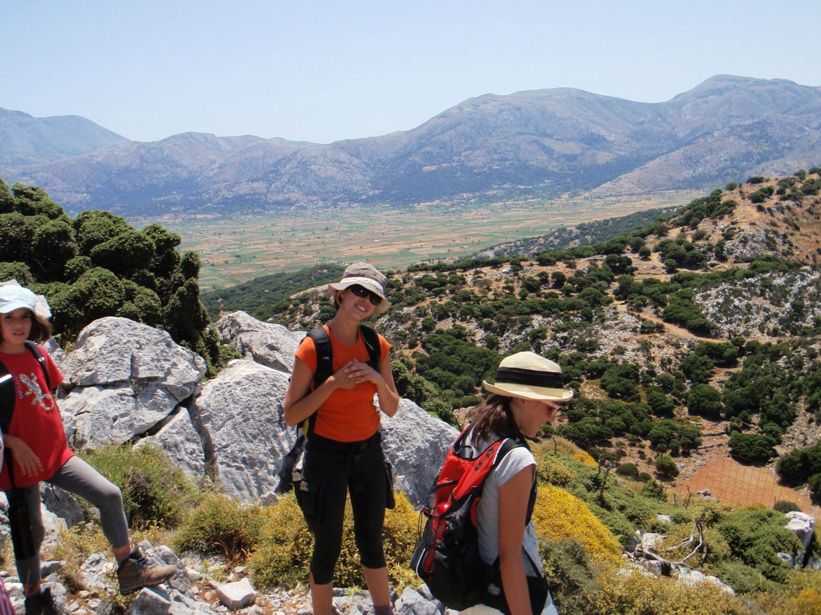 kids love greece family trekking excursions crete outdoor activities for families