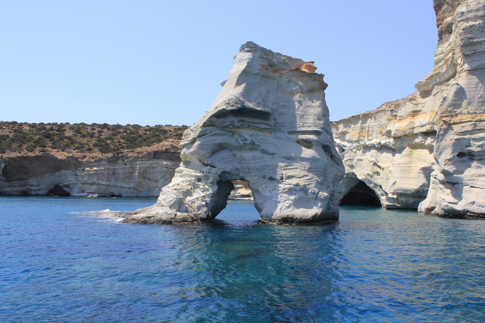 milos island greece sea KidsLoveGreece.com