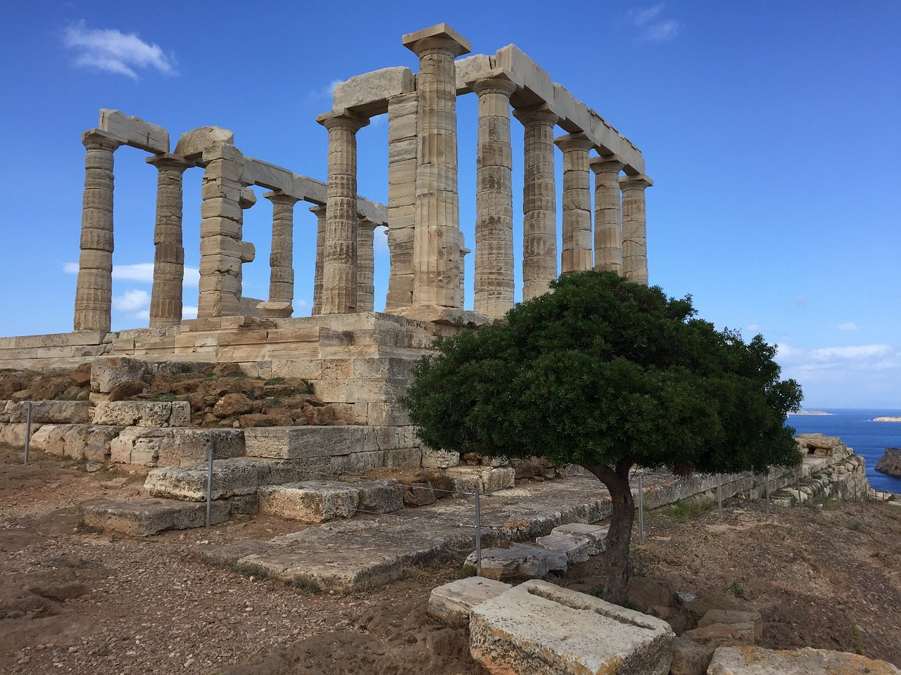 Experience a unique Percy Jackson tour to the Temple of Poseidon, and discover Greek mythology and legends along the way