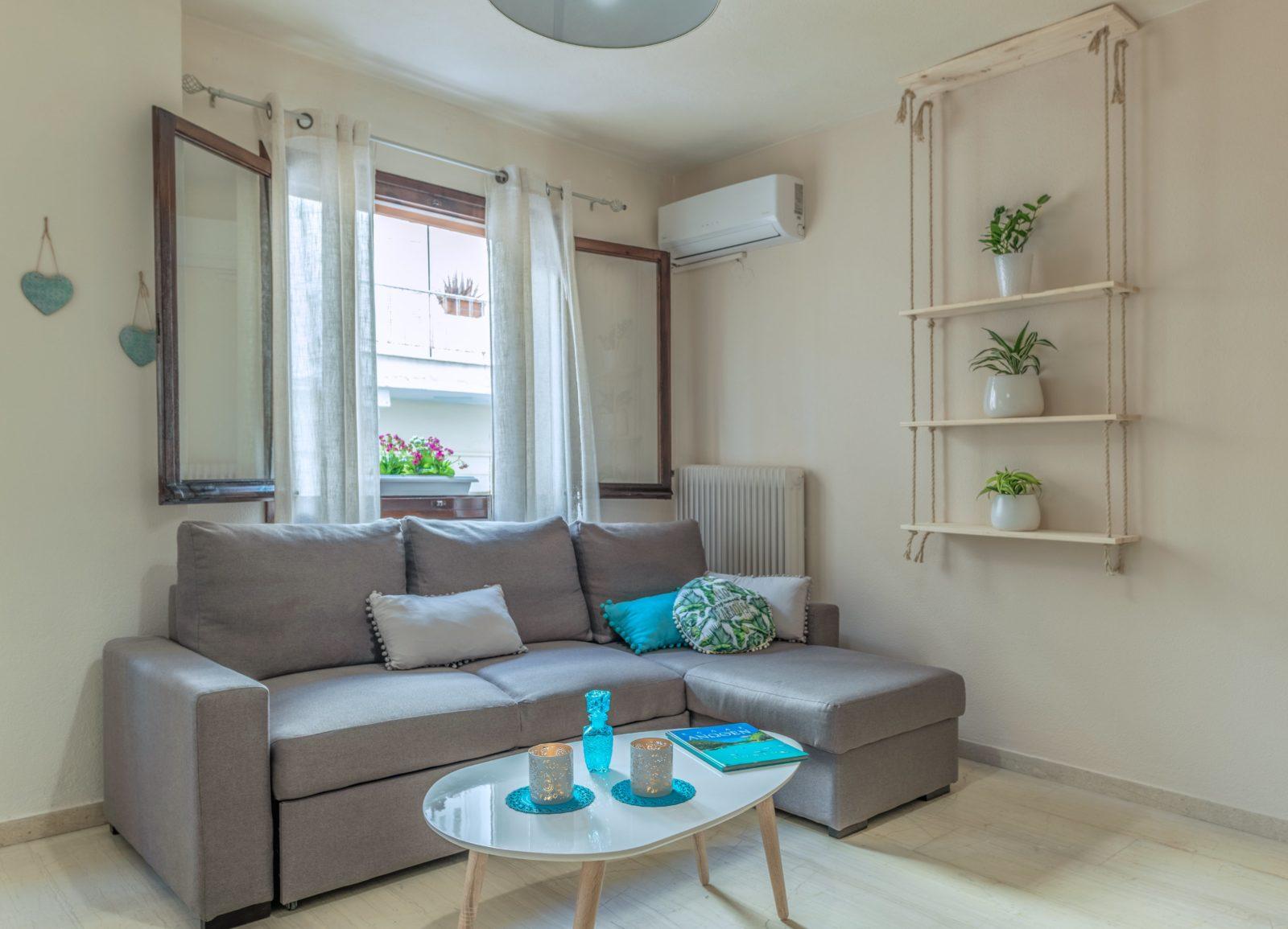 Airbnb apartment Heraklion centre family friendly excellent location spacious kidslovegreece value for money crete knossos