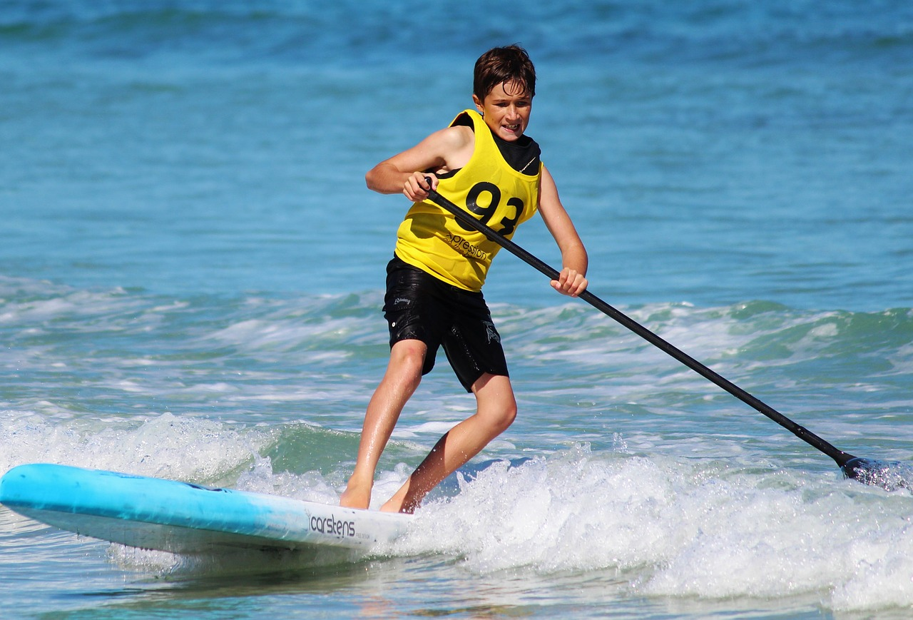 sup activity in Messenia Greece