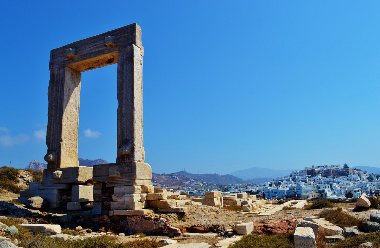 Naxos in Greece is perfect for family vacations