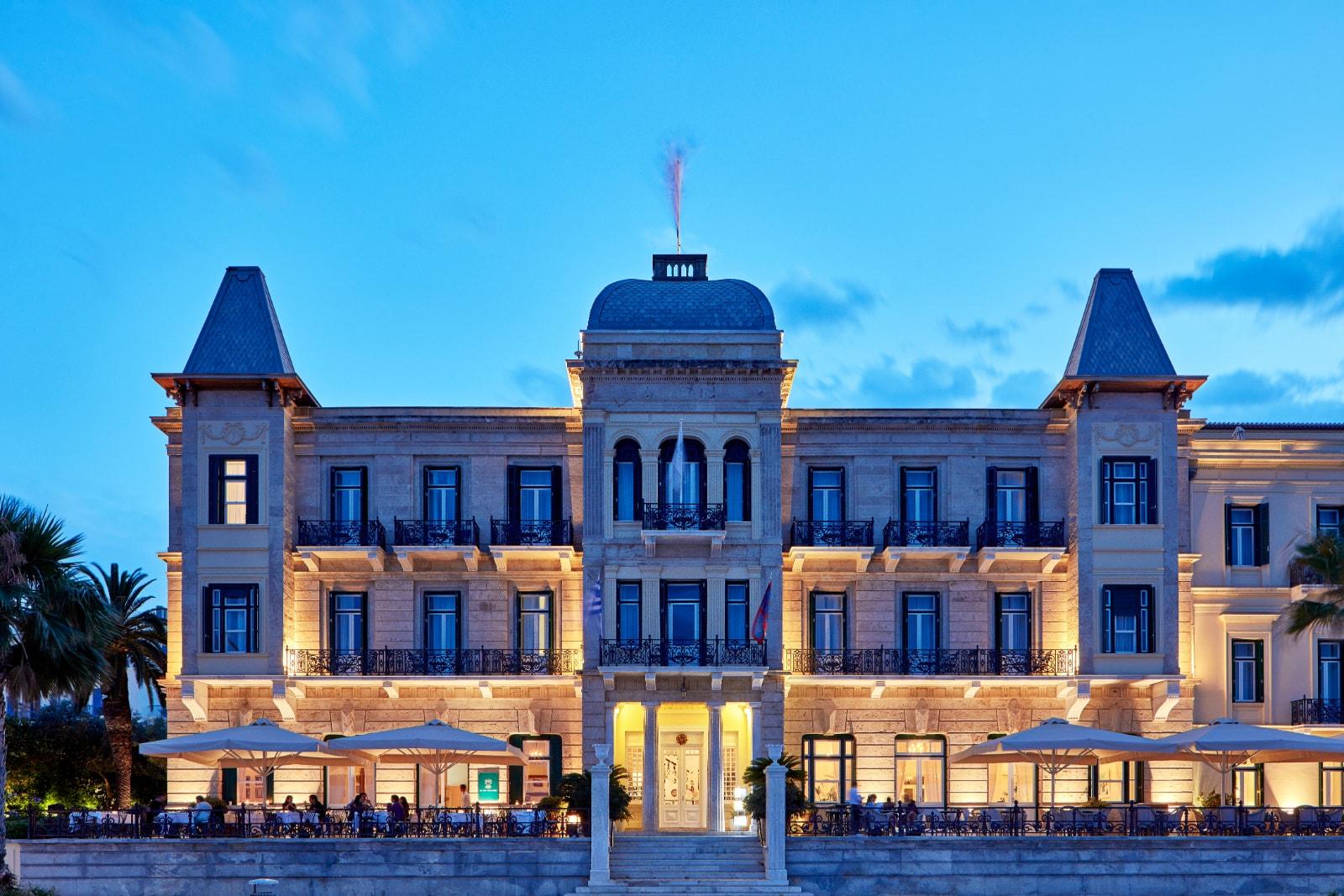 Spetses luxury Hotel Poseidonion Luxury