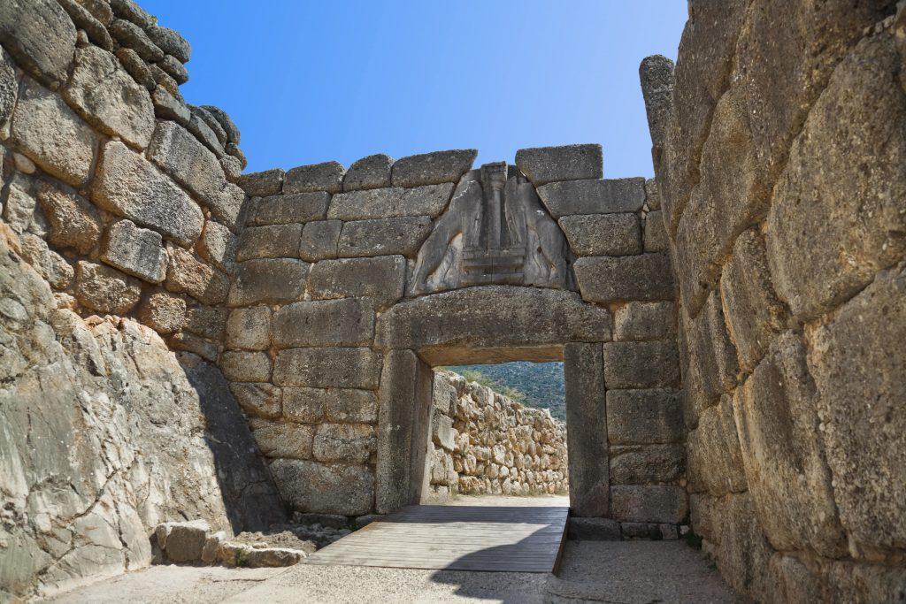 Mycenae Lions Gate DP