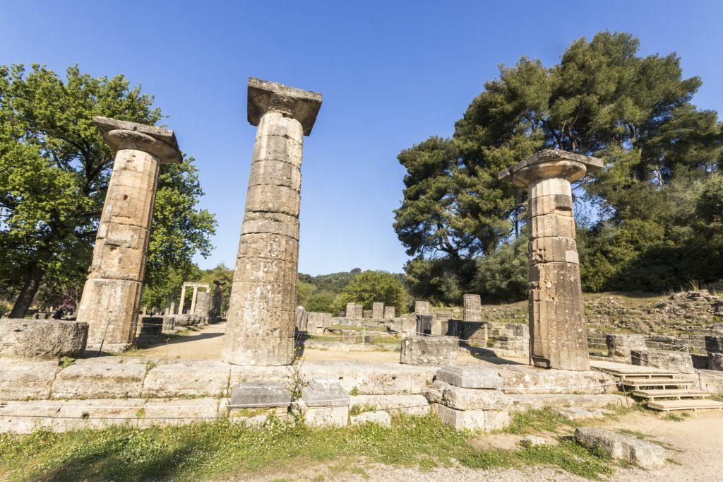 Temple of Hera, Olympia, Greece DP-min