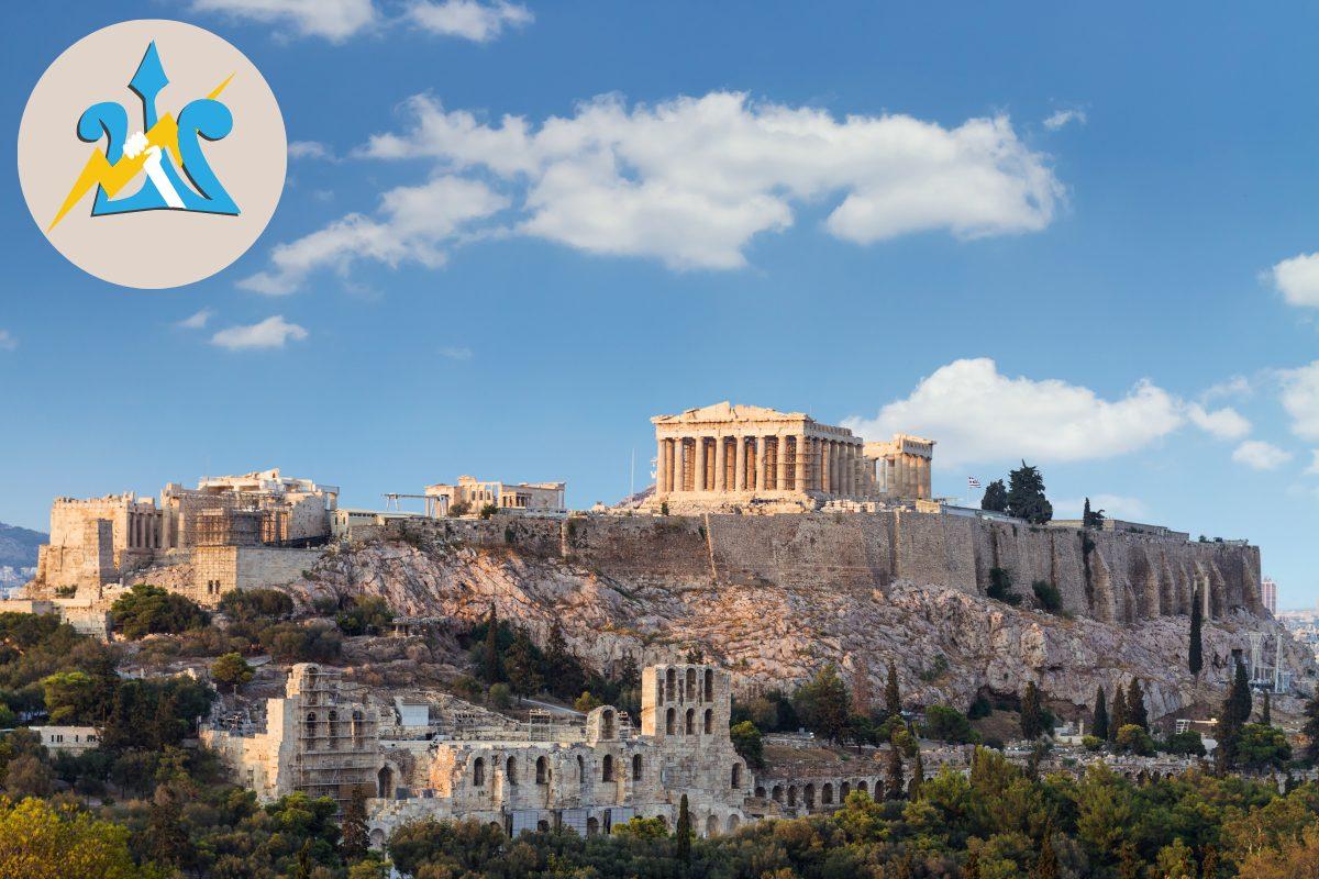 Athens Percy Jackson Tour Parthenon Acropolis for kids Greece DP